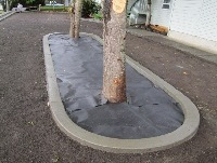 Landscaping curbs